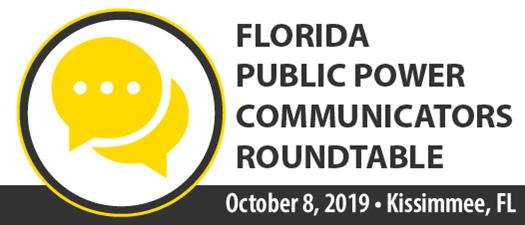 2019 Florida Public Power Communicators Roundtable