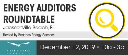 2019 Energy Auditors Roundtable - Winter Meeting