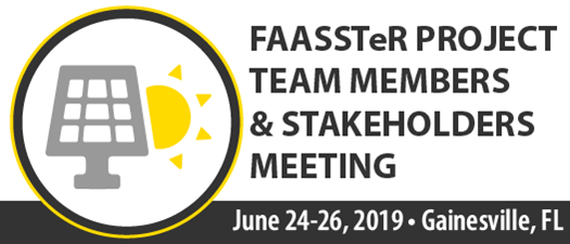 2019 FAASSTeR Meeting - Summer