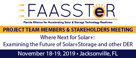 2019 FAASSTeR Project Team Members & Stakeholder Fall Meeting