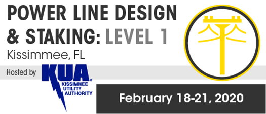 2020 Power Line Design and Staking Certification Program Level 1