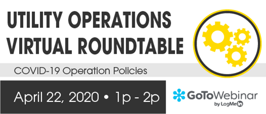FMEA Virtual Roundtable: Utility Operations Virtual Roundtable - April 2020