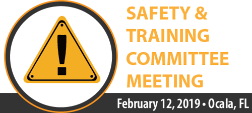 2019 Safety and Training Committee Meeting