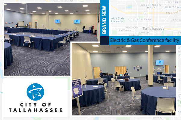 City of Tallahassee Electric and Gas Conference center