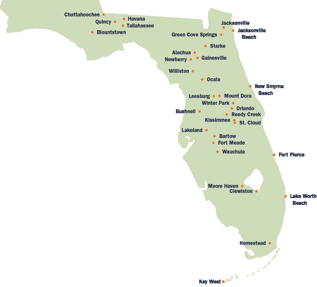 FMEA Member Map