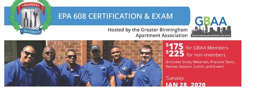 EPA 608 Certification & Exam