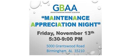 GBAA Maintenance Appreciation Night