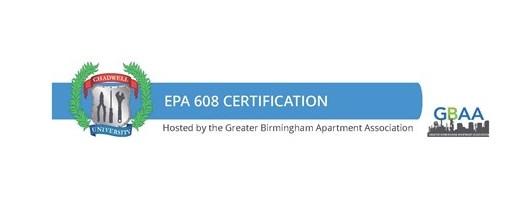 EPA 608 Certification :Friday. October 8th, 2021