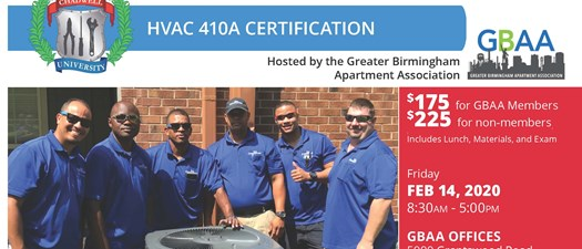HVAC R410 Certification