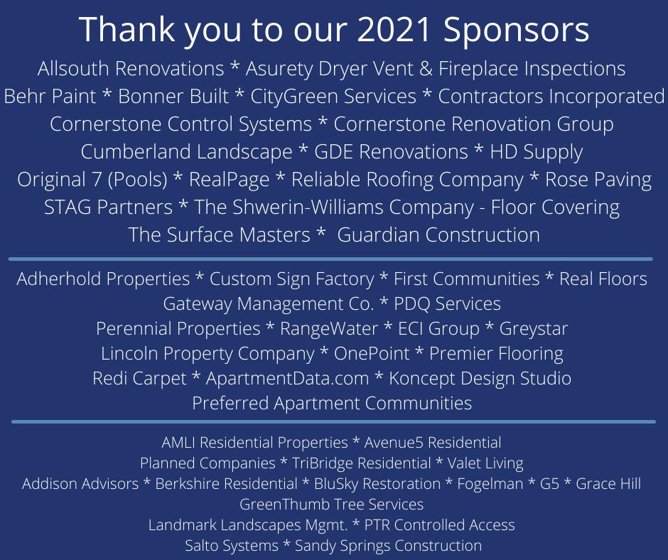 2021 Sponsors