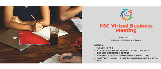 Products & Services Council April Virtual Business Meeting