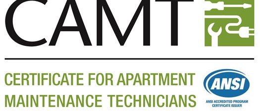 CAMT: Certificate for Apartment Maintenance Technicians
