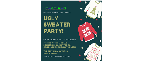 Next Gen Ugly Sweater Holiday Party