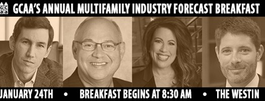 GCAA's Annual Multifamily Industry Forecast Breakfast