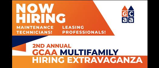 GCAA Multifamily Hiring Extravaganza - Open to the Public!