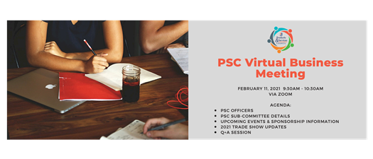 Products & Services Council Virtual Business Meeting