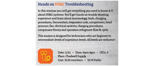 Hands on HVAC Troubleshooting