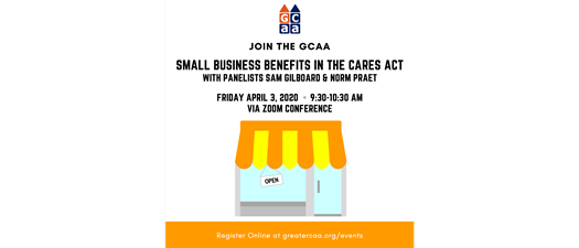Small Business Benefits in the CARES Act Webinar