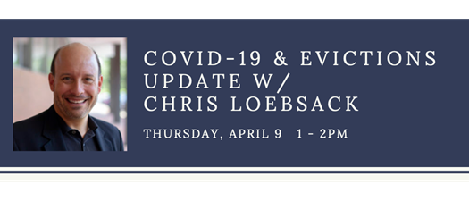 COVID-19 & Evictions Update with Chris Loebsack
