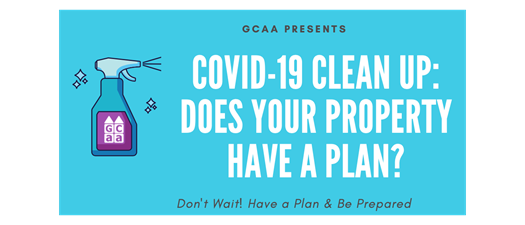COVID-19 Clean Up Webinar: Does your Property have a Plan?