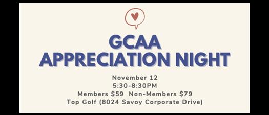 GCAA Appreciation Night