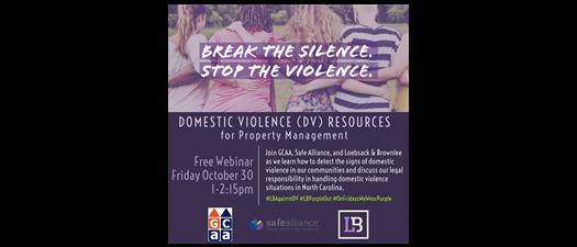 Domestic Violence Resources for Property Management Webinar