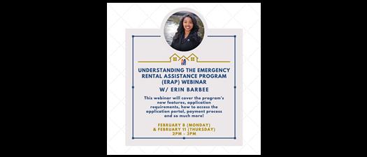 Understanding the Emergency Rental Assistance Program (ERAP) Webinar