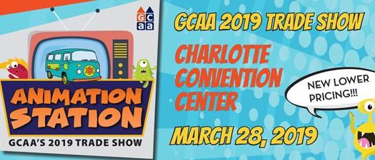 GCAA 2019 Trade Show: Animation Station