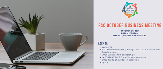 Products & Services Council October Business Meeting