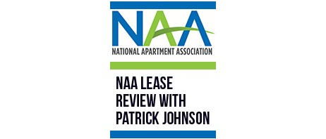 NAA Lease Review with Patrick Johnson