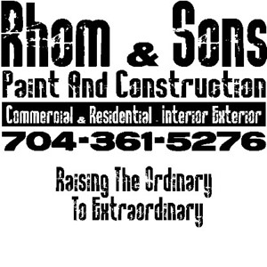 Rhom & Sons Paint and Construction