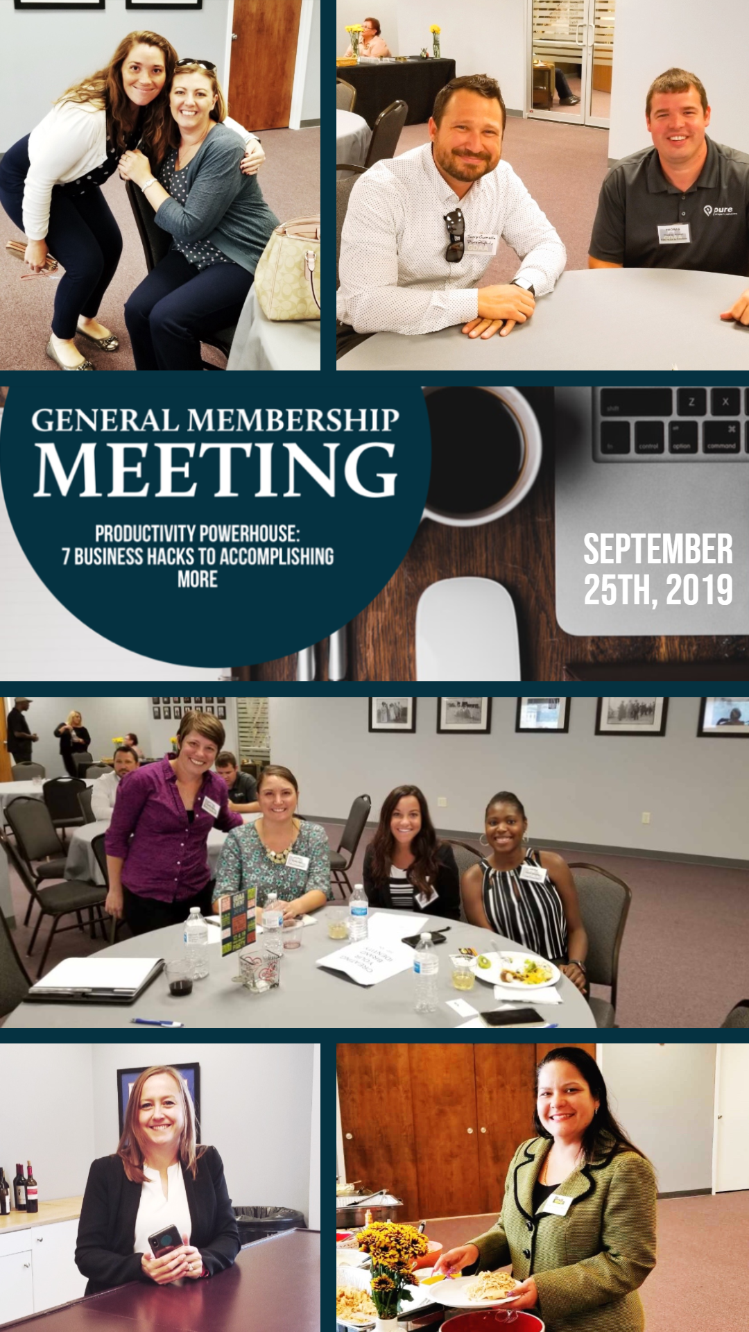 September General Meeting Collage
