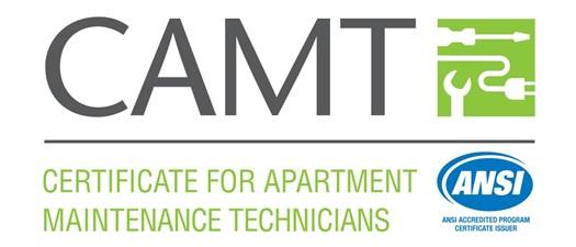CAMT Certificate for Apartment Maintenance Technician