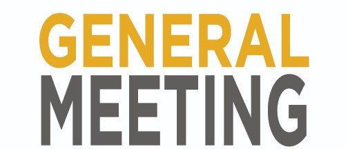 January General Meeting- State of the Industry