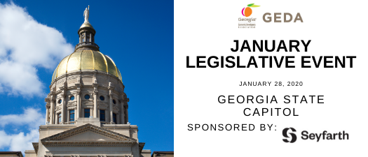 January 2020 GEDA Legislative Event