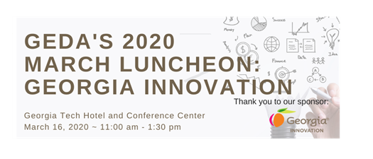 POSTPONED/CANCELLED : March 2020 GEDA Luncheon