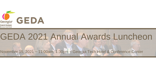 GEDA 2021 November Awards Luncheon