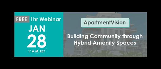 Building Community through Hybrid Amenity Spaces