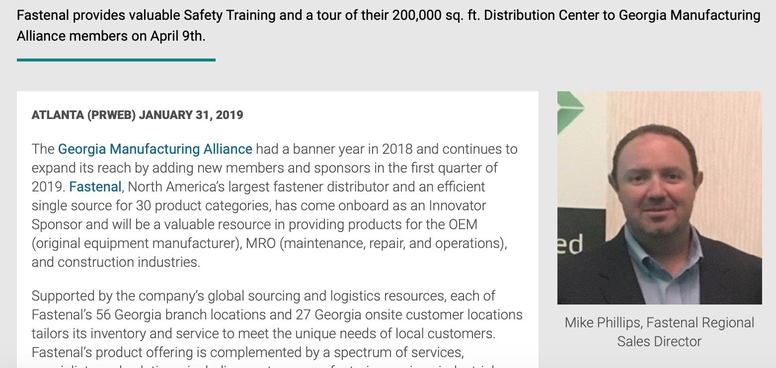 Fastenal, North America's Largest Fastener Distributor