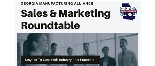 GMA Members ONLY Roundtable - Sales and Marketing
