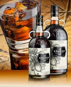 The KrakenTM Black Spiced Rum