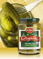 Del Monte Organic Pickles