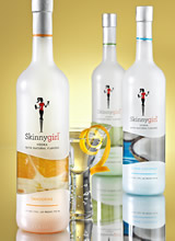 Skinnygirl Vodka with Natural Flavors