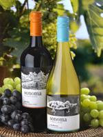 Sonoma Vineyards Chardonnay and Merlot