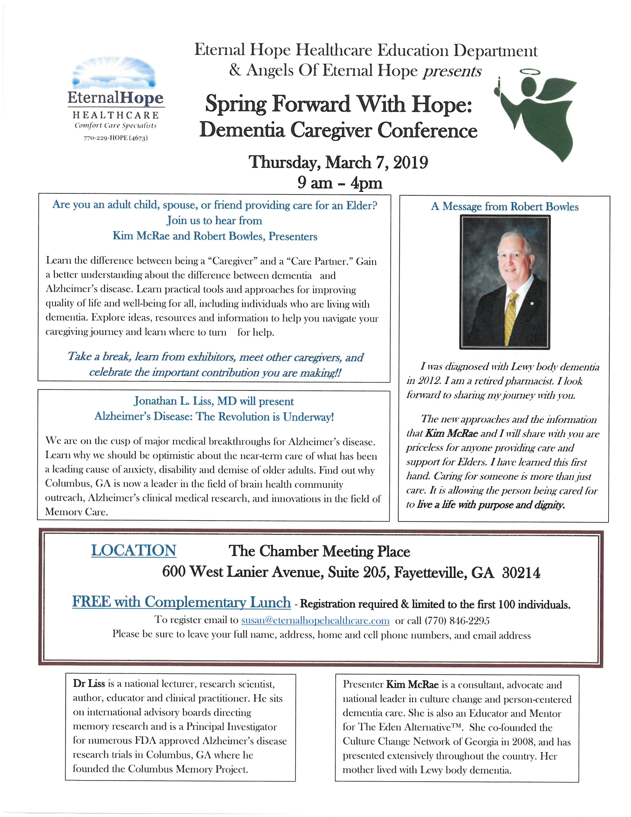 Spring Forward with Hope - Griffin-Spalding Chamber of Commerce