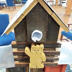 Decorative Birdhouse Built by Dick Morrow