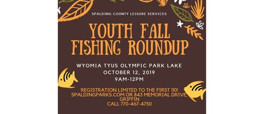Fall Kids Fishing Event
