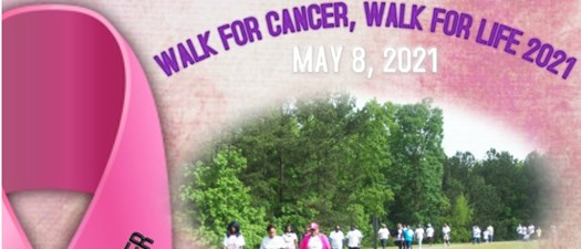 DWF Walk for Cancer, Walk for Life 2021
