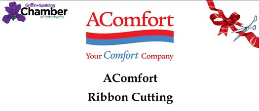 Ribbon Cutting - A Comfort