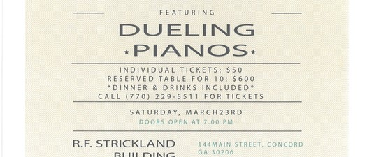 A Grand Night Out - Dueling Pianos